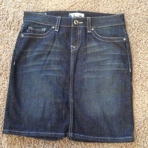 alterego Jeans Skirt Sz S